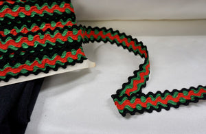 Tripple Ric Rac Braid Trim