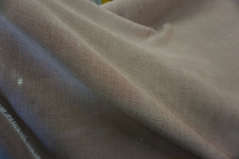 Bamboo Chambray Shirting, Milk Cocoa Brown
