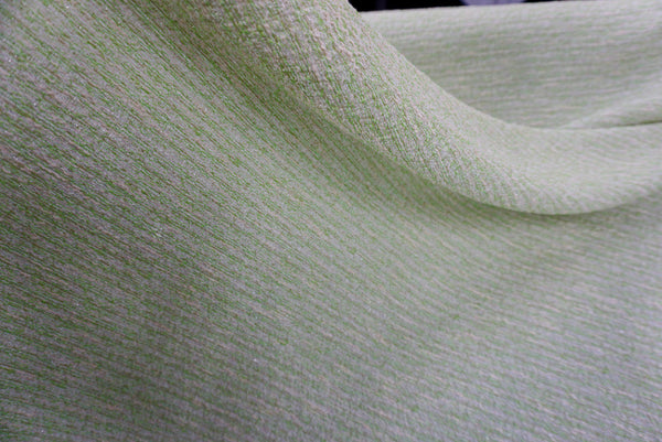 Lime Sorbet Tweed, With Silver Lurex Specks