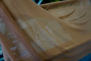 Pure Cashmere Muslin (Pashmina) Terracotta Brown