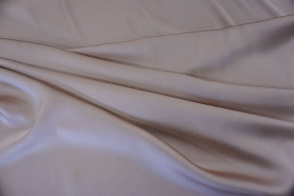 Heavy Crepe back Satin, Vintage Rose