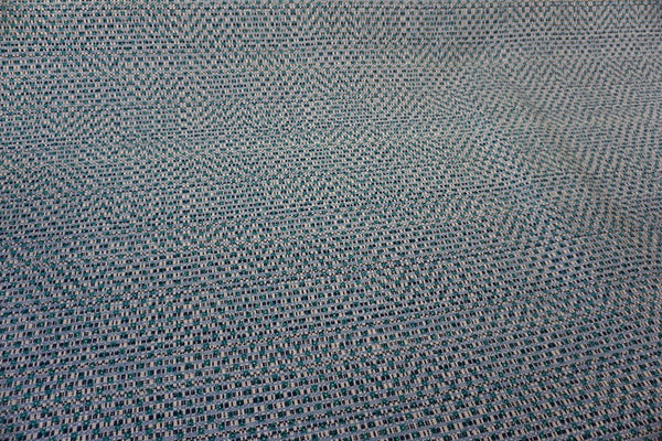Dobby Print on Blue & White Tweed Suiting