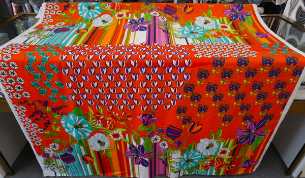 PANEL- Fields of Holland Print on Stretch Sateen