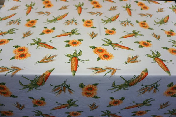 Summer Harvest Printed Cotton Twill