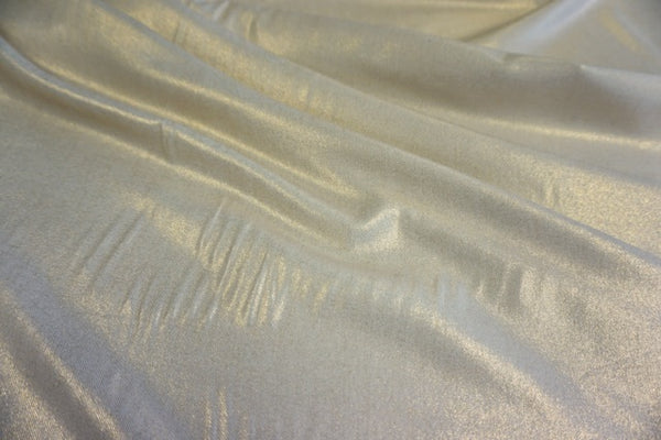 Lightly Coated Gold Twill Shirting