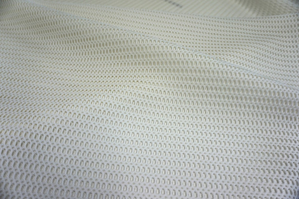 Ivory Double Sided Sports Mesh