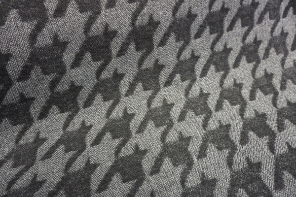 Houndstooth Herringbone, Double Cloth Heavy Coating