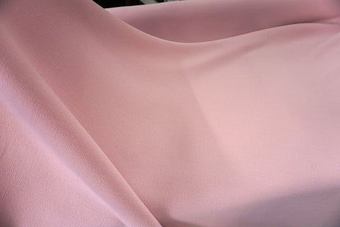 Double Cloth Wool Crepe, Powder Pink