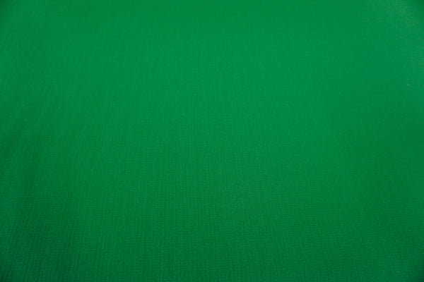 Emerald Green, Stretch Double Cloth Wool Crepe