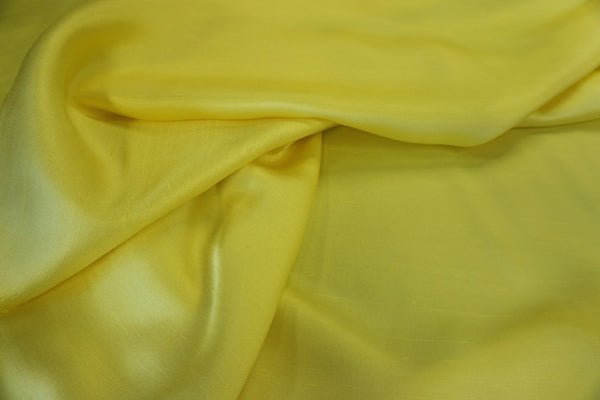 Canary Yellow, Soft Silk Shantung