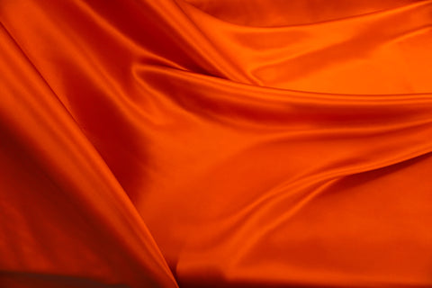 Blood Orange Silk Satin, Roberto Cavalli Collection