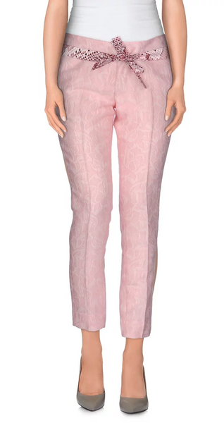 Pale Pink Jacquard Suiting