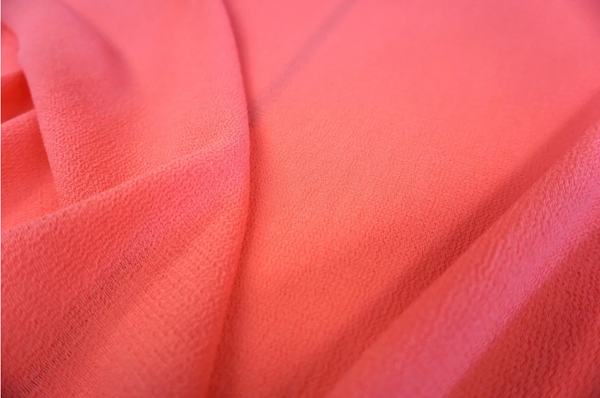 Lightweight Wool Crepe, Candy Pink
