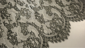 French Chantilly Lace, Noir