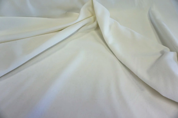 Plush Cotton Velvet, Ivory