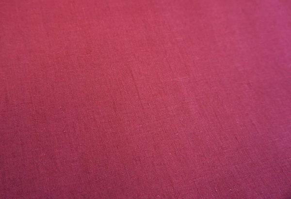 Bright Berry Medium Weight Linen - Wide