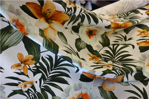 Tiger Lily Printed Cotton Twill