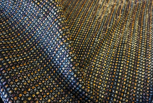 Espresso Raffia Tweed Suiting
