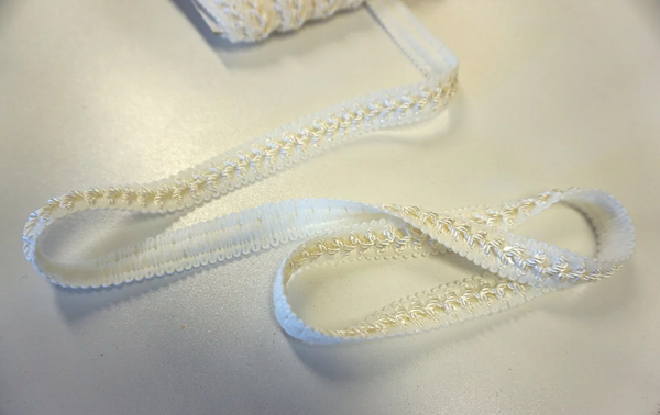 Ivory Braid Trimming with Sequins
