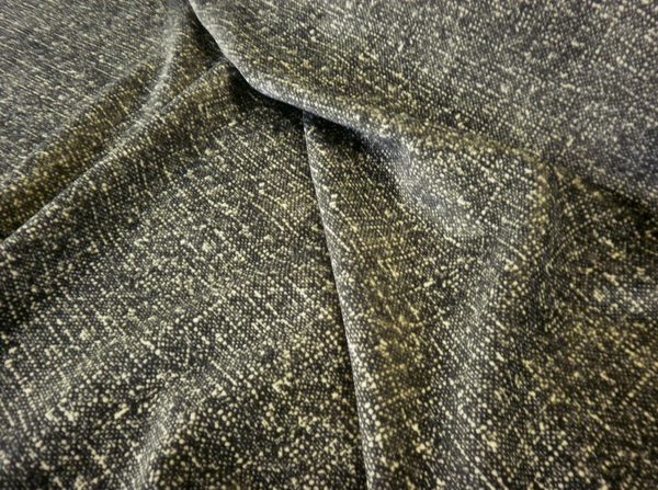 Tweed Print Cotton Velvet