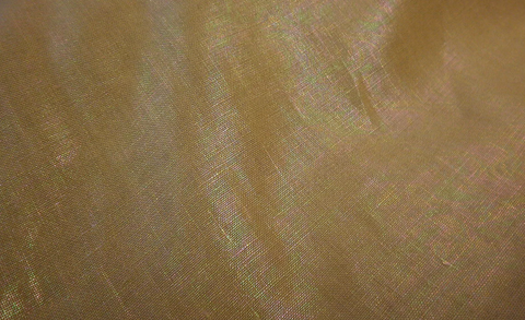 Hologram Coated Linen, Beige