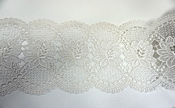 French Guipure Lace Trim, Ivory