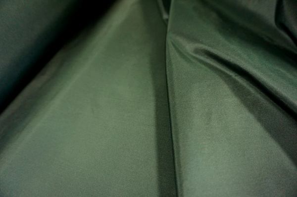 Forrest Green Heavy Silk Taffeta