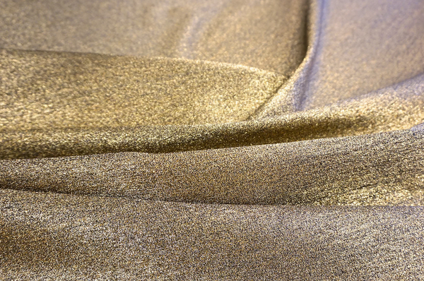 Twill Backed Gold Lamè