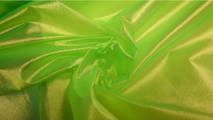 Organza, Neon Lime Green