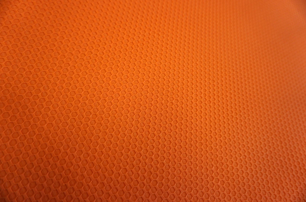 Honeycomb Raised Dobby, Orange