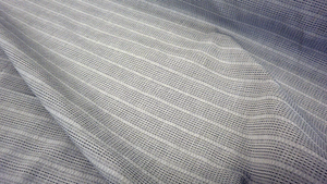 Dobby Cross Italian Stripe Shirting, Grey