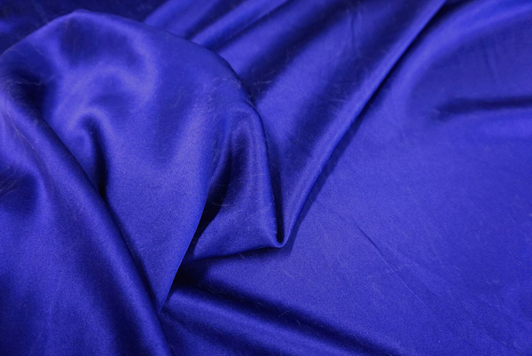 Brushed Heavy Double Sided Satin, Ink Blue