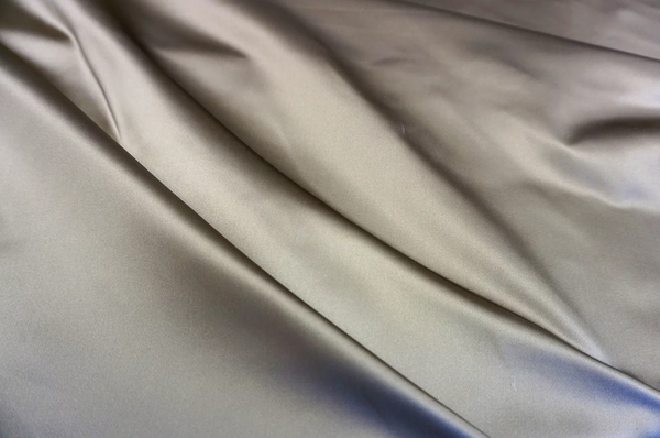 Oyster Gold Heavy Duchesse Silk Satin