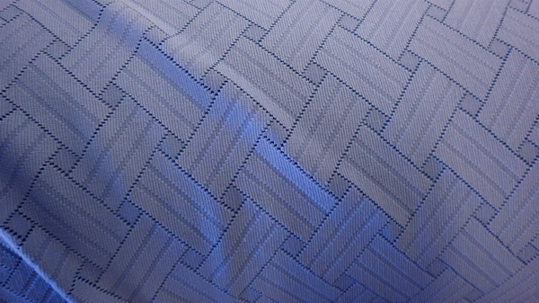 Two-way Stretch Geometric Jersey, Dusty Purple