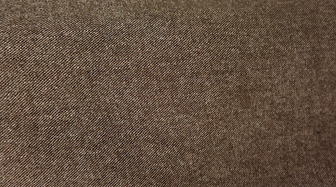 Serge Tweed Gaberdine Suiting, Cappuccino Grit