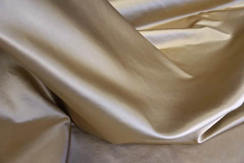 Heavy Duchesse Silk Satin, Gold