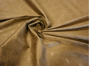 Embossed Silk Taffeta, Light Bronze