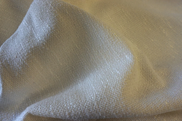 Heavy Cotton Viscose Blend Tweed, Natural Sand