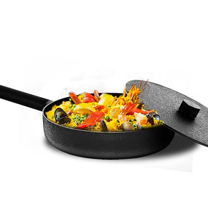 Cast Iron Deep Pan: 28 cm