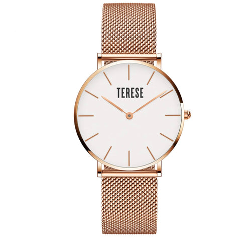 Rose Gold Stainless Steel womens watch