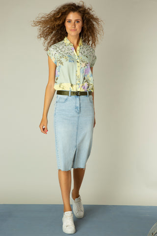 Denim Skirt - NEW ARRIVAL