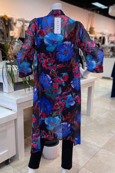 Ava Duster – Bright Floral - NEW ARRIVAL