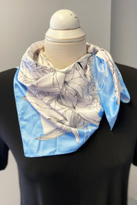 Soya Concept | Floral Print Neck Scarf  (more colours available)