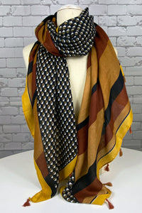 Diamond Print Scarf (2 colours available) - NEW ARRIVAL
