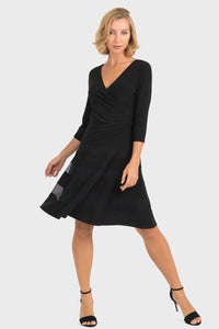 Joseph Ribkoff | Faux Wrap Dress