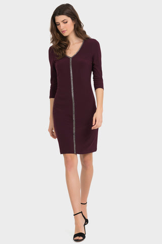 Joseph Ribkoff | Blackberry Dress