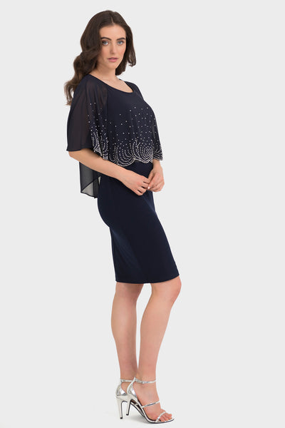 Joseph Ribkoff | Beaded Dress **50% OFF original price applied at checkout**