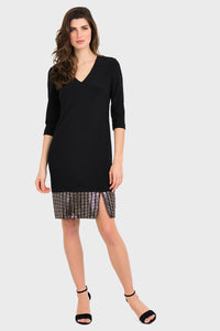 Joseph Ribkoff | Knit & Sequin Dress - NEW ARRIVAL