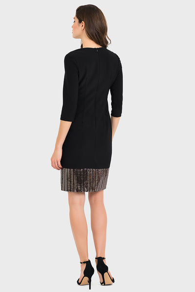Joseph Ribkoff | Silky Knit & Sequin Dress