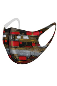 Sunset Village Designer Mask